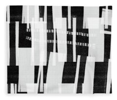 Out Of Bounds- Art By Linda Woods Fleece Blanket
