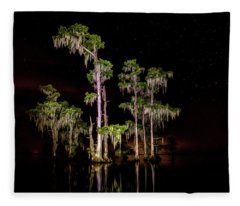 Out Of The Darkness Fleece Blanket