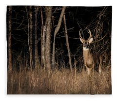 Out Of The Forest Fleece Blanket