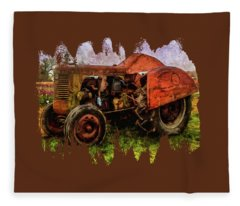 Put Out To Pasture Fleece Blanket