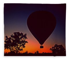 Outback Balloon Launch Fleece Blanket