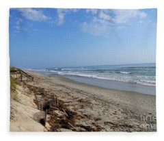 Outer Banks Morning Fleece Blanket