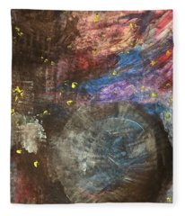 Outer Space Abstract Fleece Blanket
