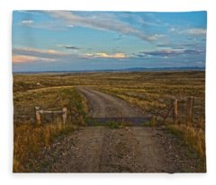 The Road Less Traveled Fleece Blanket