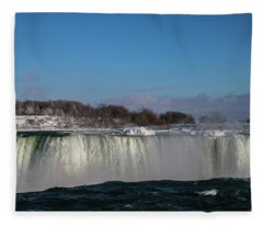 Over The Edge Fleece Blanket