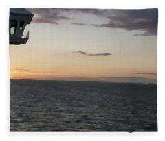 Over The Edge Photo/painting Fleece Blanket
