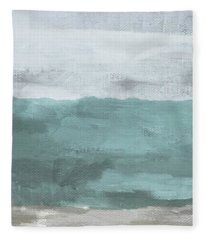 Overcast- Art By Linda Woods Fleece Blanket