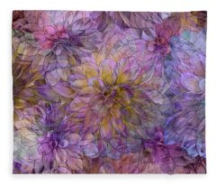Overwhelming Fragrance Fleece Blanket
