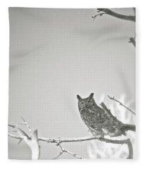 Owl Be Seeing You Fleece Blanket