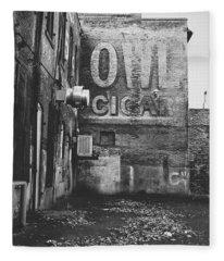 Owl Cigar- Walla Walla Photography By Linda Woods Fleece Blanket