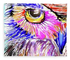 Owl Concern Fleece Blanket