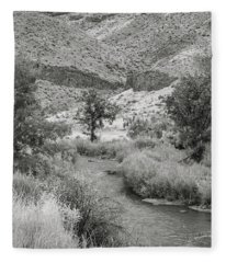 Owyhee River Fleece Blanket