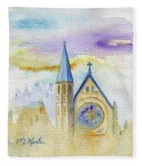 Oxford Church Fleece Blanket