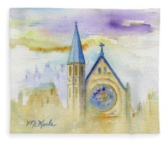 Oxford Church Fleece Blanket