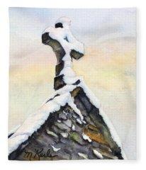 Oxford Snow Fleece Blanket