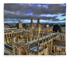Oxford University - All Souls College Fleece Blanket
