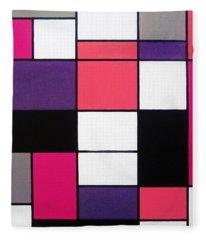 P Cubed Fleece Blanket