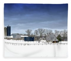 Pa Farm Fleece Blanket
