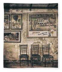Pabst Good Old Time Flavor Fleece Blanket