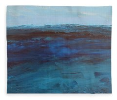 Pacific Blue Fleece Blanket