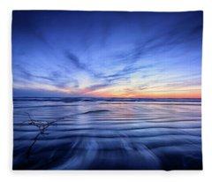Pacific Marvel Fleece Blanket