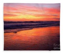 Cardiff Coast  Fleece Blanket