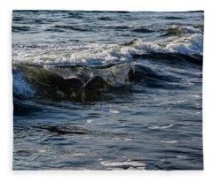 Pacific Waves Fleece Blanket