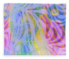 Pacific Daydream Fleece Blanket