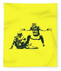 Packers Clay Matthews Sack Fleece Blanket