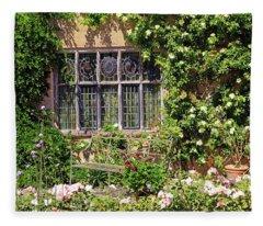 Packwood House Window Fleece Blanket