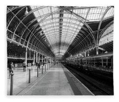 Paddington Station Fleece Blanket