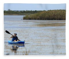 Paddle Away Fleece Blanket
