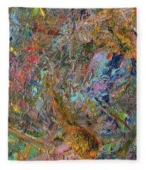 Paint Number 26 Fleece Blanket