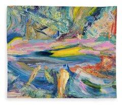 Paint Number 31 Fleece Blanket