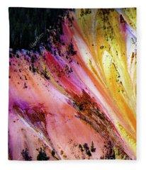 Painted Canyon Fleece Blanket