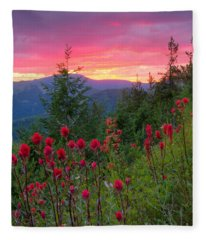 Painted Sky Fleece Blanket