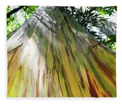 Painted Tree Fleece Blanket