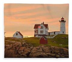 Painting The Skies Fleece Blanket
