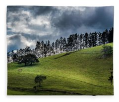 Paisaje Colombiano #1 Fleece Blanket