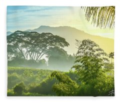 Paisaje Colombiano #12 Fleece Blanket