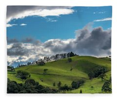 Paisaje Colombiano #2 Fleece Blanket