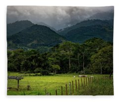 Paisaje Colombiano #7 Fleece Blanket