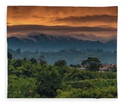 Paisaje Colombiano #9 Fleece Blanket