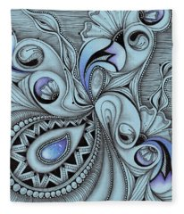 Paisley Power Fleece Blanket