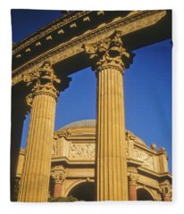Palace Of Fine Arts, San Francisco Fleece Blanket