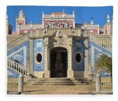 Palacio De Estoi Front View Fleece Blanket
