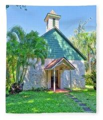 Palapala Ho'omau Congregational Church Fleece Blanket