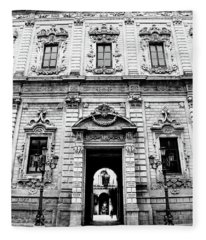 Palazzo Dei Celestini Fleece Blanket