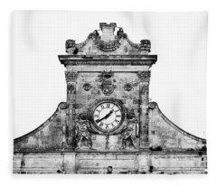 Palazzo Municipale Fleece Blanket