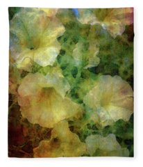 Pale Petunias 5146 Idp_2 Fleece Blanket